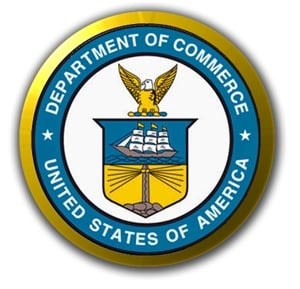 logo Department of Commerce of !united States of America