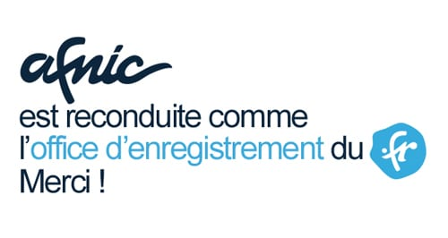 Afnic registre officiel du .FR
